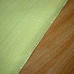 Przędza mieszana z włókien para-aramidowych z włóknem węglowym